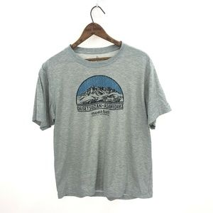MONT BELL T-shirt Performance Gray L Double Sided